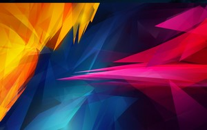 1280x800 Windows 10 wallpaper Spiked Colors Abstract
