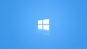 HD 1920x1080 Windows 10 wallpaper The Light Blue Windows 10 logo