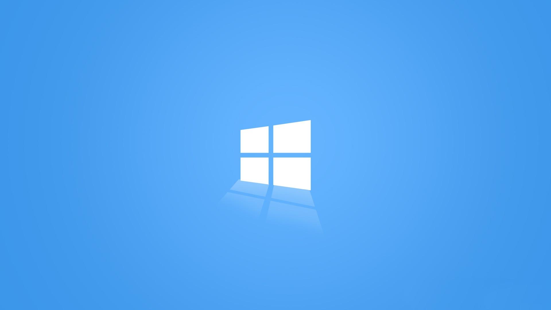 The Light Blue Windows 10 Wallpaper